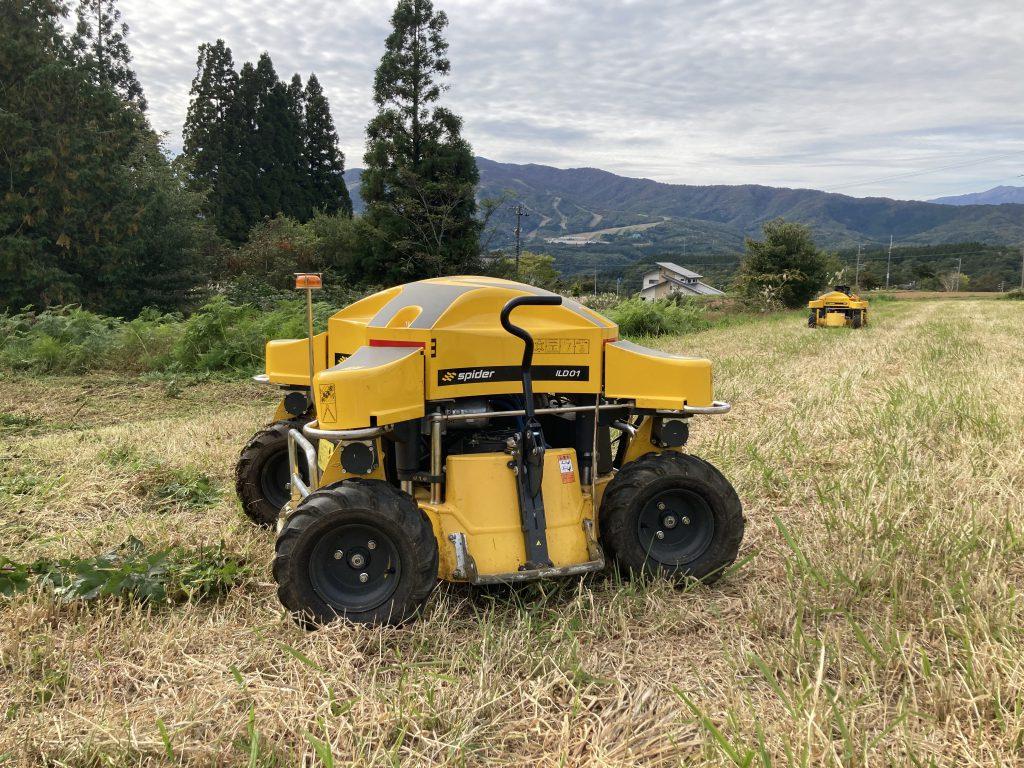 ラジコン草刈り機